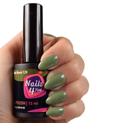 Gellak Dubai Green 129 Nails4you