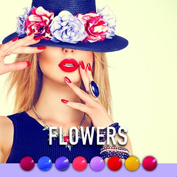 Flowers Collectie Gellak