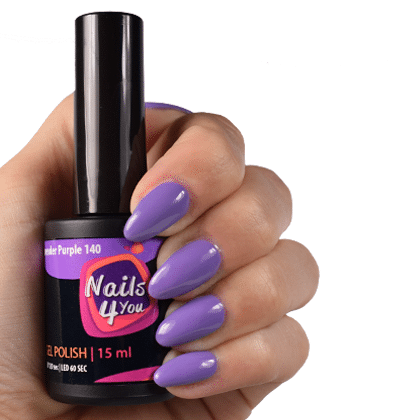 Gellak Lavender Purple 140 Nails4you