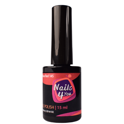 Gel Polish Rose Red 145 Nails4you