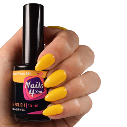 Gellak Sunflower Yellow 144 Nails4you