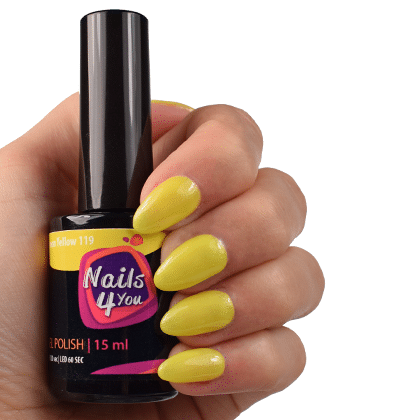 Gellak Lemon Yellow 119 Nails4you