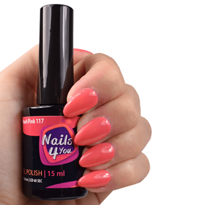Gellak Peach Pink 117 Nails4you
