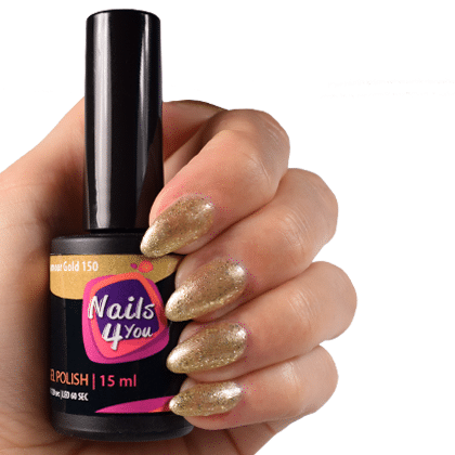 Gellak Glamour Gold 150 Nails4you