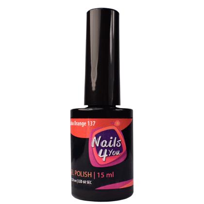 Gel Polish Cuba Orange 137 Nails4you