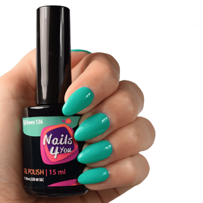 Gellak Fiji Green 136 Nails4you