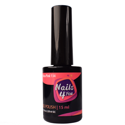 Gel Polish Ibiza Pink 134 Nails4you