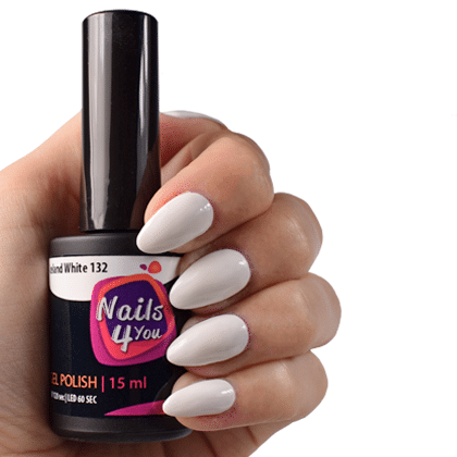 Gellak Iceland White 132 Nails4you