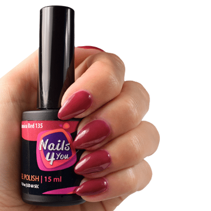 Gellak Jamaica Red 135 Nails4you