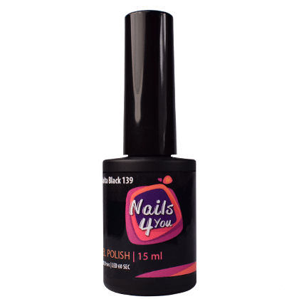 Gel Polish Malta Black 139 Nails4you