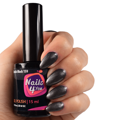 Gellak Metallic Black 159 Nails4you