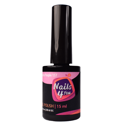 Gel Polish Metallic Purple 157 Nails4you