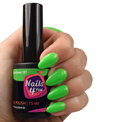 Gellak Neon Green 107 Nails4you