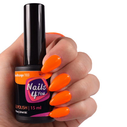 Gellak Neon Orange 103 Nails4you