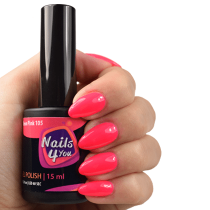 Gellak Neon Pink 105 Nails4you