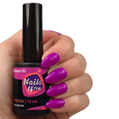 Gellak Neon Purple 102 Nails4you