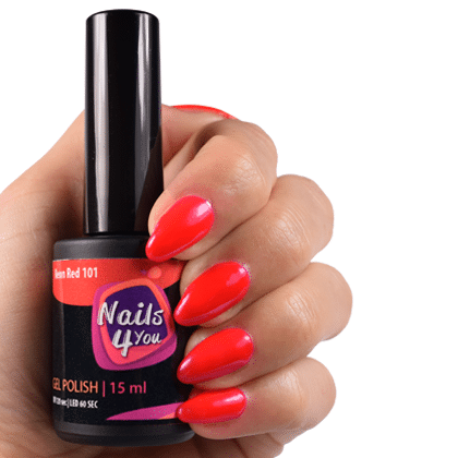 Gellak Neon Red 101 Nails4you