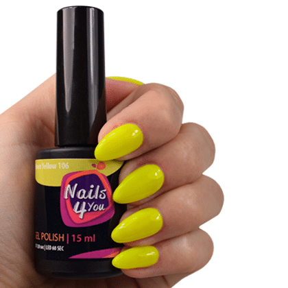 Gellak Neon Yellow 106 Nails4you