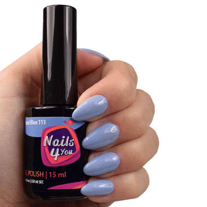 Gellak Pastel Blue 113 Nails4you