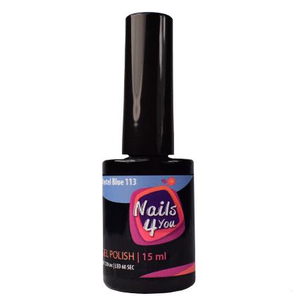 Gel Polish Pastel Blue 113 Nails4you