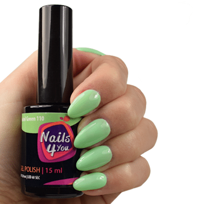 Gellak Pastel Green 110 Nails4you
