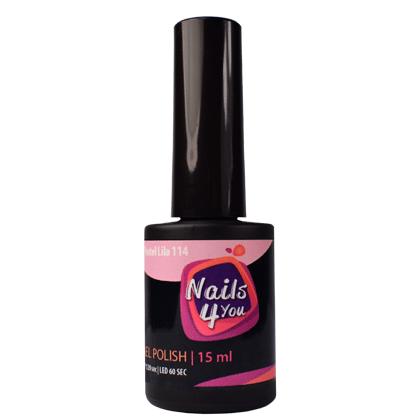 Gel Polish Pastel Lila 114 Nails4you