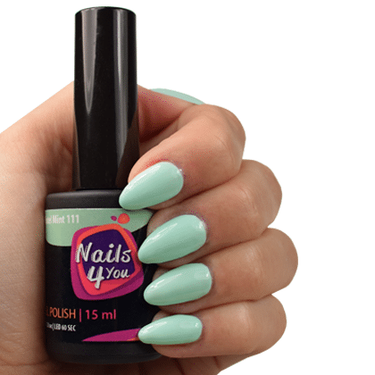 Gellak Pastel Mint 111 Nails4you