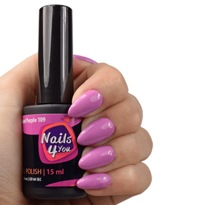 Gellak Pastel Purple 109 Nails4you