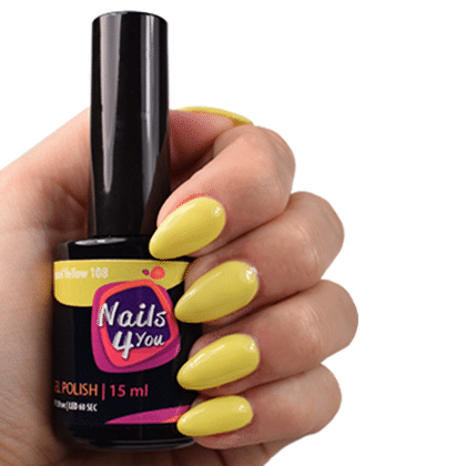 Gellak Pastel Yellow 108 Nails4you