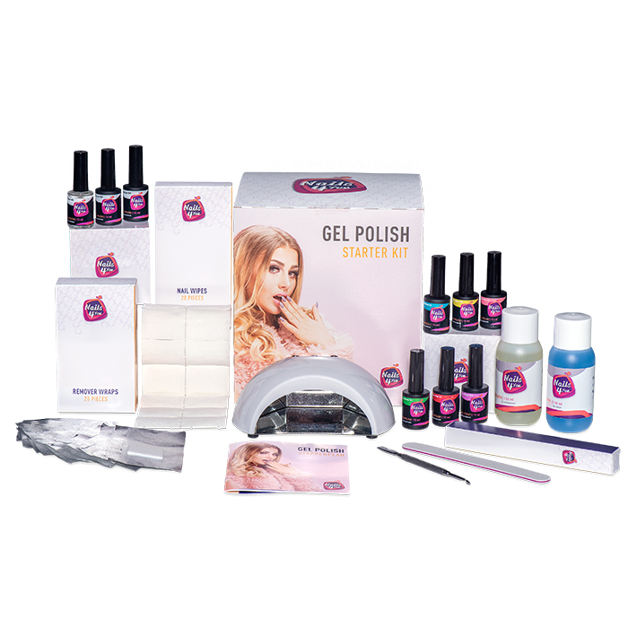 Gellak Starterset XL Nails4you